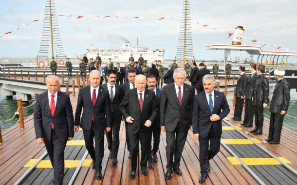 19 Mayıs 2019 Gazi Mustafa Atatürk'ün Kurtuluş mücadelesini başlatmasının 100. yılında Samsundayız