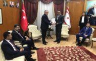 TBMM Başkanvekili Celal Adan'ın KKTC Başbakanı Tufan Erhürman'ı ziyaretleri