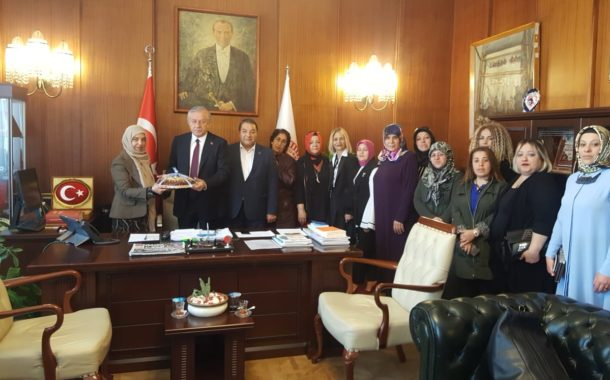 Malatya Kadın Kolları İl Başkanlığının Ziyaretleri