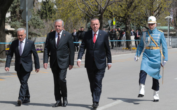 23 Nisan 2019 TBMM nin 99. Kuruluş Yılı Törenleri Sn Cumhurbaşkanımızı Karşılama