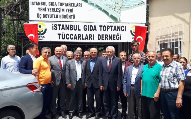 İstanbul Gıda Toptancı Tüccarları Derneği Ziyareti