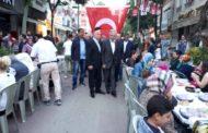 İST MHP. Bayrampaşa ilçe yönetimimizle birlikte ilçe esnafı dernekleri ziyaretimiz ve iftar programı