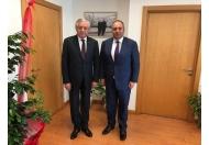 İstanbul İl Başkanımız ve İl yönetim Kurulu Üyelerimiz ve Şişli İlçe Başkanımızın ziyaretleri.04.04.2018