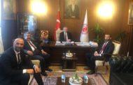 MHP Genel Başkan Yardımcımız Sayın Fethi YILDIZ Beyin ve Esenler İlçe Başkanımız Suat YILMAZ'ın makamımızı ziyaretleri
