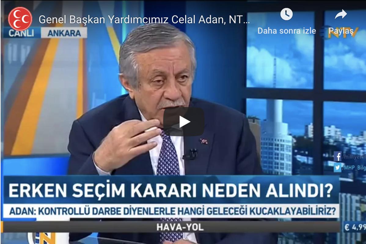 NTV GÜN ORTASI HABER Funda GÖREY KONUĞU SN Celal ADAN 19.04.2018