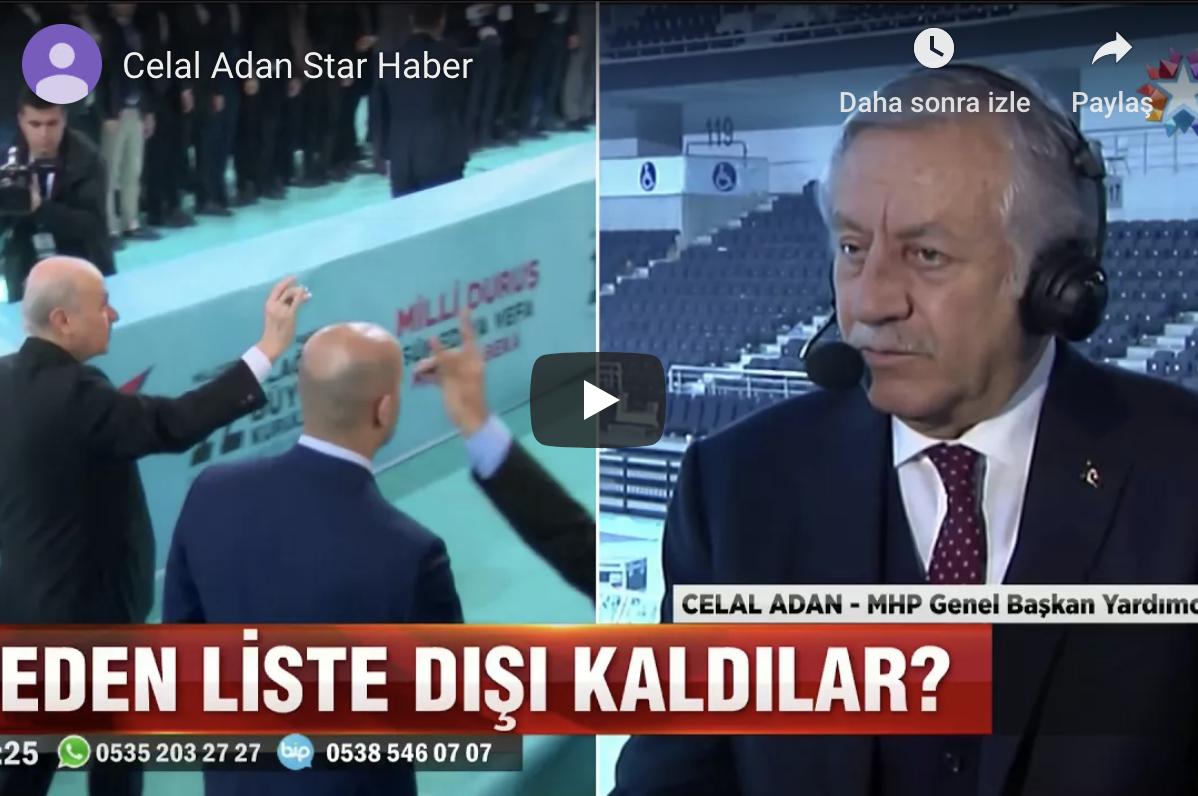 Celal ADAN Star Haber Canlı Yayın Konuğu 18.3.2018
