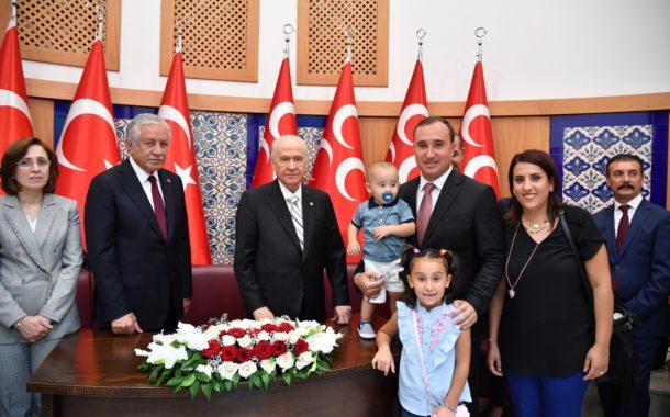 12 Ağustos 2019 MHP Genel Merkezinde Sayın Genel Başkanımızın vatandaşlarımızla bayramlaşma kabulu