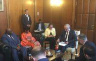 Sieerra Leone Dışişleri ve Uluslararası İşbirliği Bakanı Nabeela Tunis Kabulü