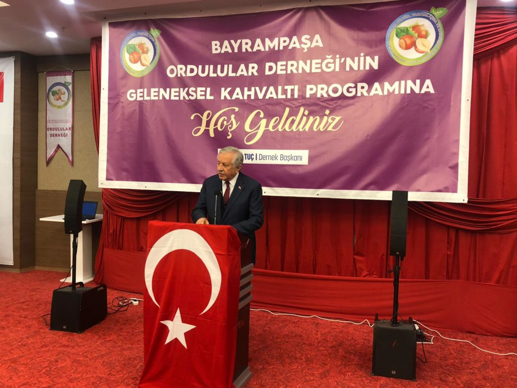 MHP Bayrampaşa ilçe Bşk düzenlediği Programda   Ordu'lu Vatandaşlarımızla Birarada