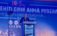 TBMM Başkanvekili Sn Celal ADAN Sarıkamış Şehitleri 105.Anma programı