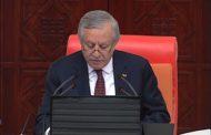 TBMM Başkanvekili Sayın Celal Adan 24 Mart 2020 genel kurul açılış konuşması